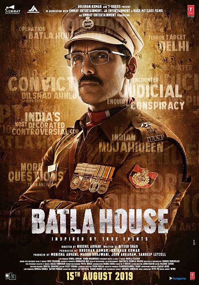 Batla House (2019) Hindi Movie Trailer, Cast, Release Date, Songs, Story, Wiki