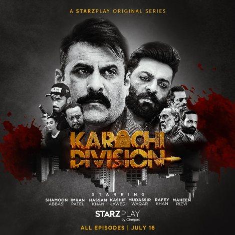 Download Karachi Division 2021 S01 Urdu Complete Starzplay Original Web Series 480p HDRip 450MB