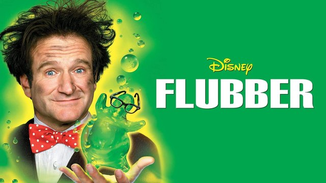 Robin Williams in Flubber (1997) Disney
