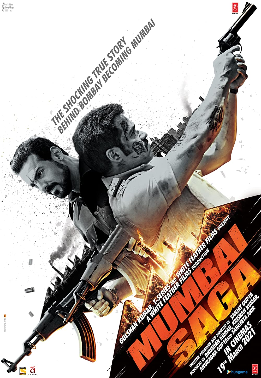 Mumbai Saga 2021 Hindi Movie 720p AMZN HDRip 1.1GB | 385MB Download
