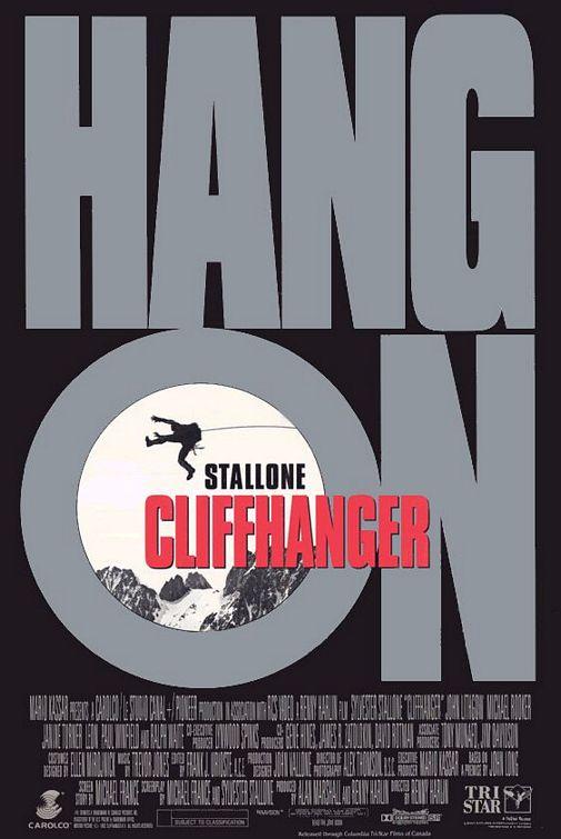 Sylvester Stallone in Cliffhanger (1993)