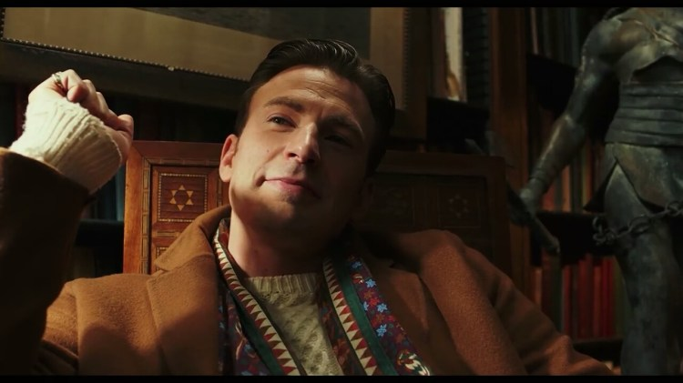Chris Evans in Knives Out (2019)