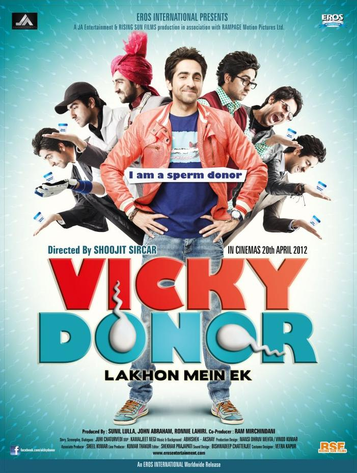 Download Vicky Donor (2012) Hindi Full Movie 480p [500MB] | 720p [1GB]