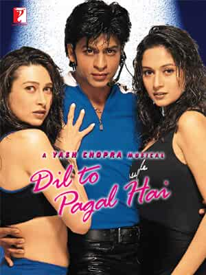 Download Dil To Pagal Hai (1997) Hindi Full Movie BluRay 480p [400MB] | 720p [1.5GB] | 1080p [3.6GB]