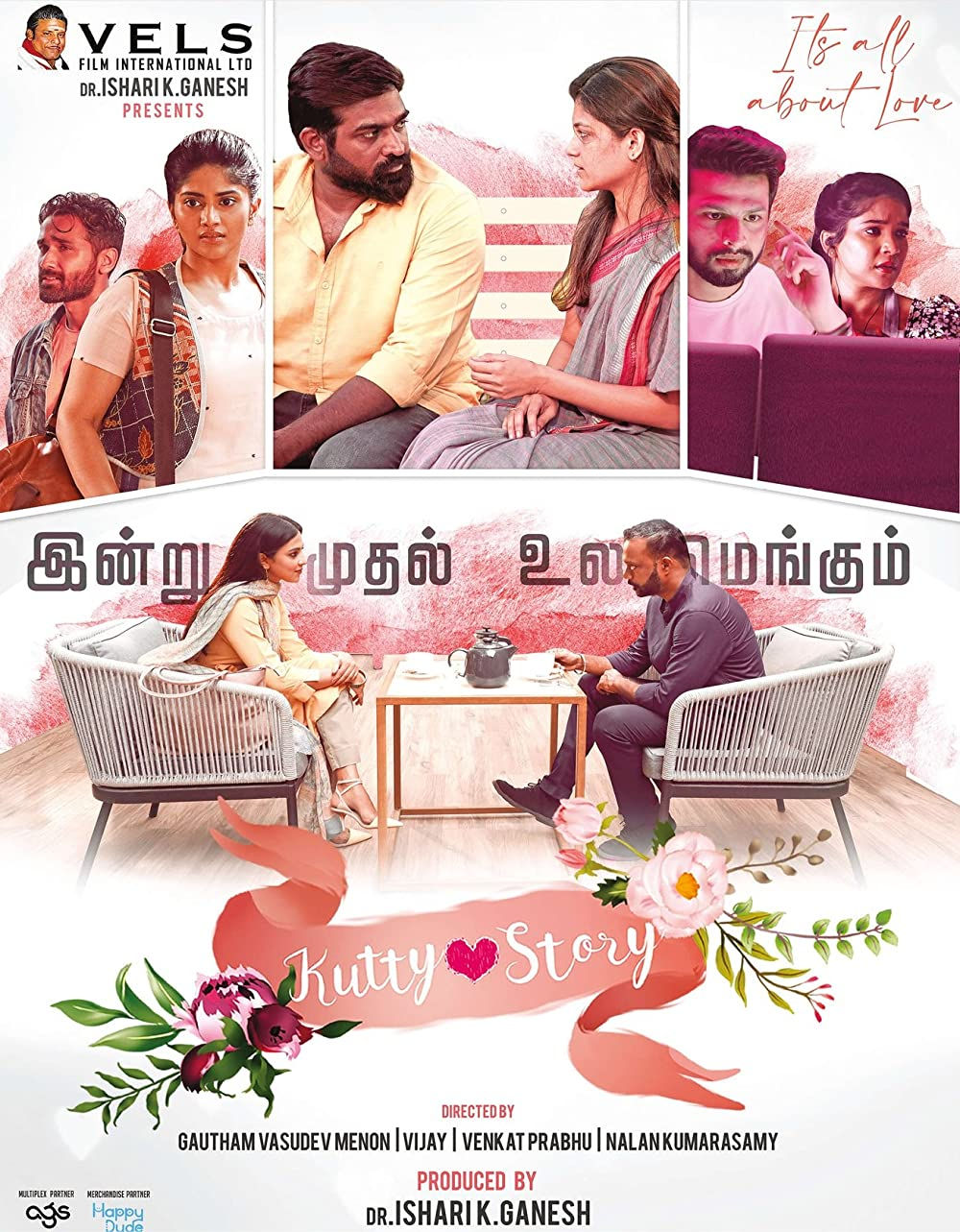 Kutty Story 2021 Tamil 720p HDRip 1.3GB ESub Download