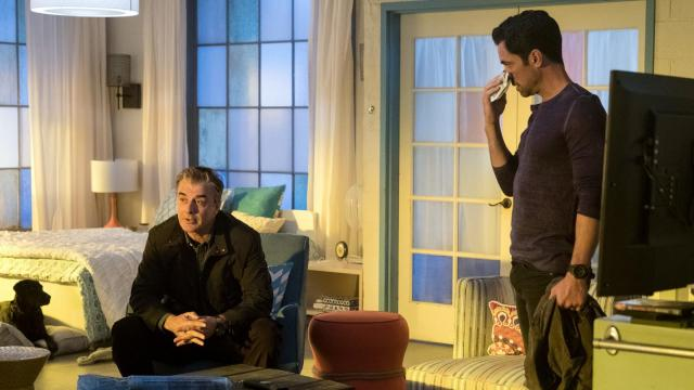 Chris Noth and Danny Pino in Gone (2017)