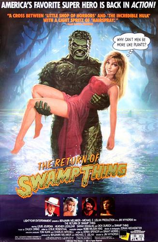 The Return of Swamp Thing (1989) English 720p BluRay 700MB
