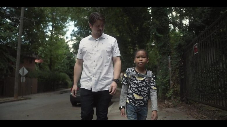 Jason Ritter and Ja'Siah Young in Raising Dion (2019)