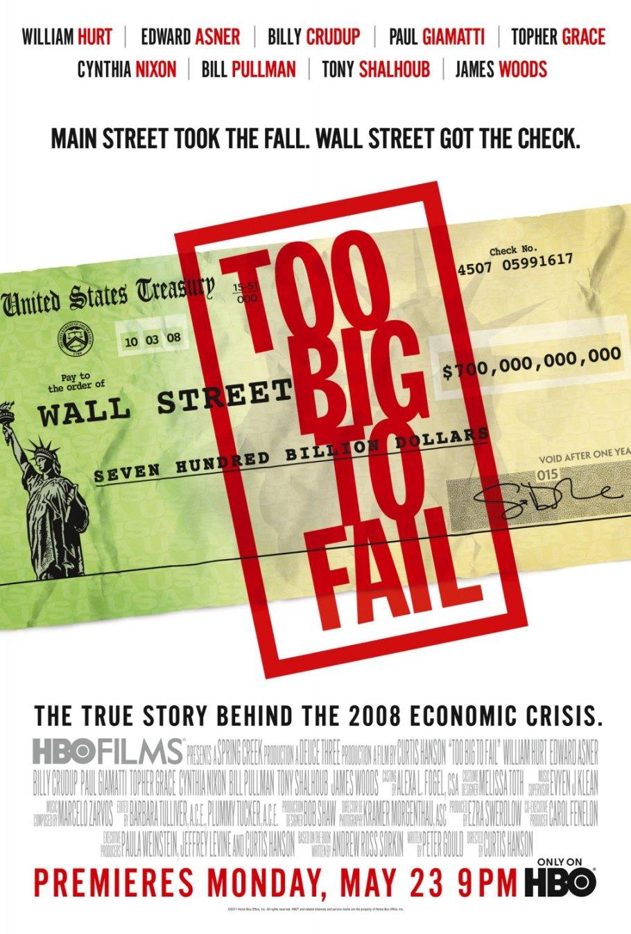 Too Big to Fail (TV Movie 2011) - IMDb
