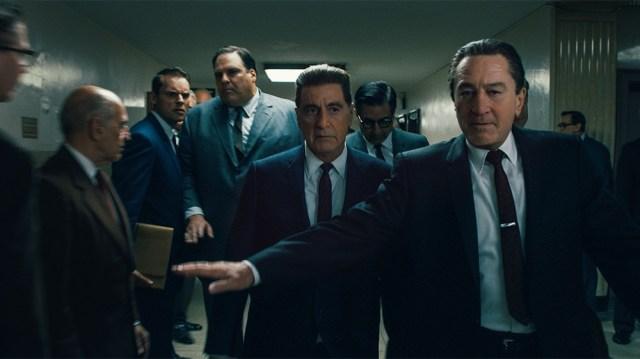 Robert De Niro, Al Pacino, Ray Romano, and Craig Vincent in The Irishman (2019)