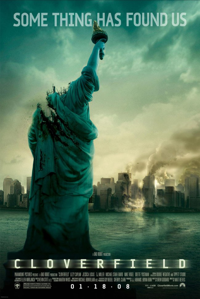 Image result for cloverfield poster
