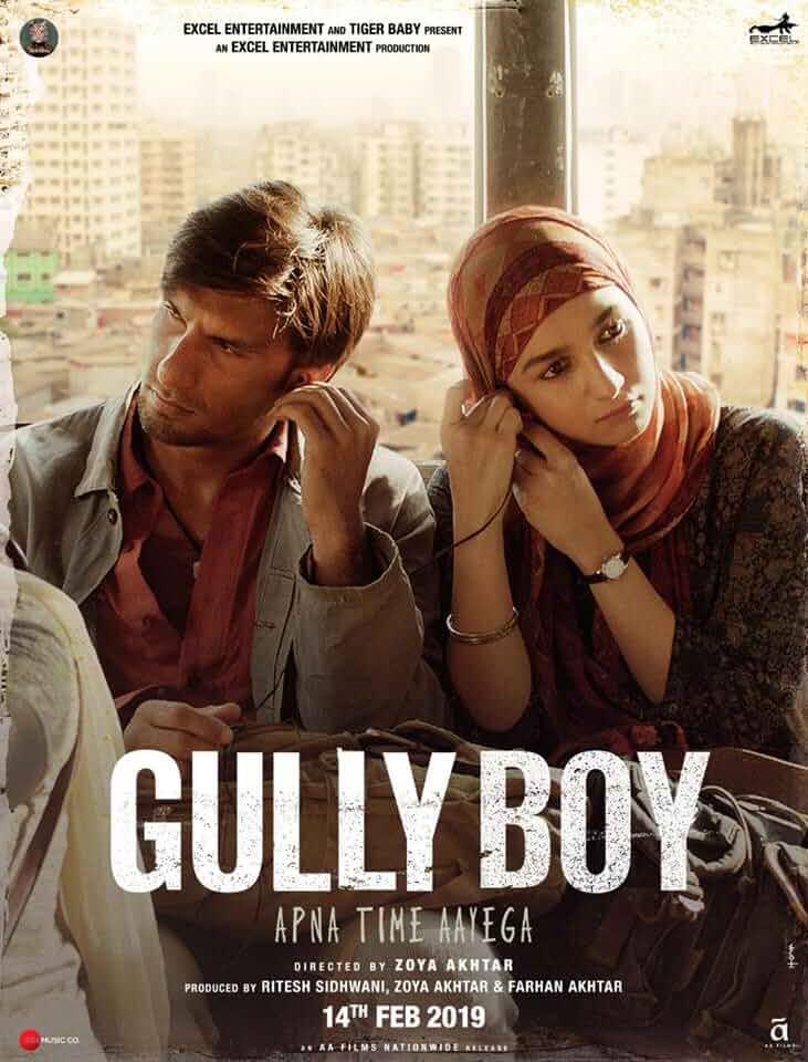 Download Gully Boy (2019) Hindi Full Movie 480p [500MB] | 720p [1.3GB]