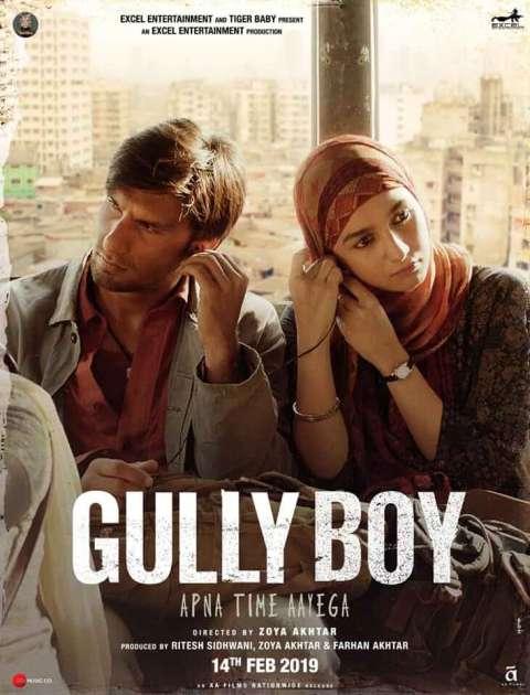 Download Gully Boy (2019) Hindi Full Movie 480p [500MB]   720p [1.3GB]