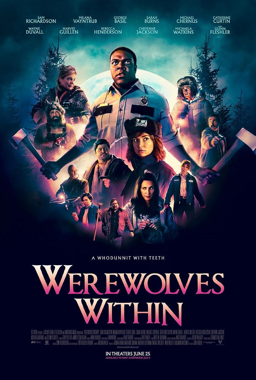 Werewolves Within 2021 English 720p HDRip 800MB Download