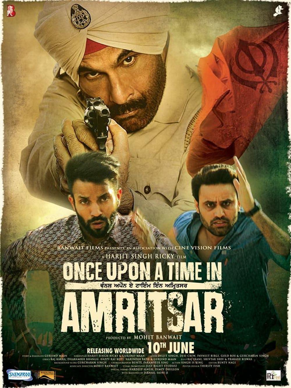 Download Once Upon a Time in Amritsar 2016 Punjabi 480p AMZN HDRip ESubs 350MB