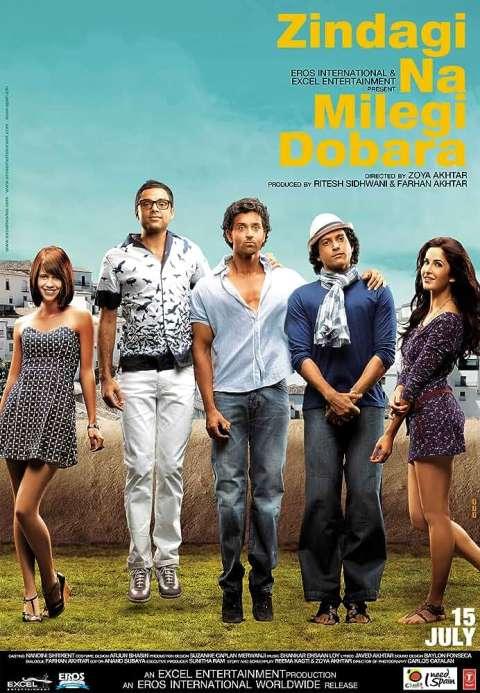 Download Zindagi Na Milegi Dobara (2011) Hindi Full Movie BluRay 480p [500MB]   720p [1.2GB]   1080p [2.6GB]