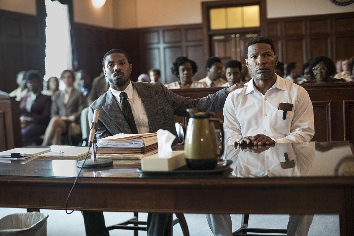 Michael B. Jordan e Jamie Foxx em Tudo pela Justiça