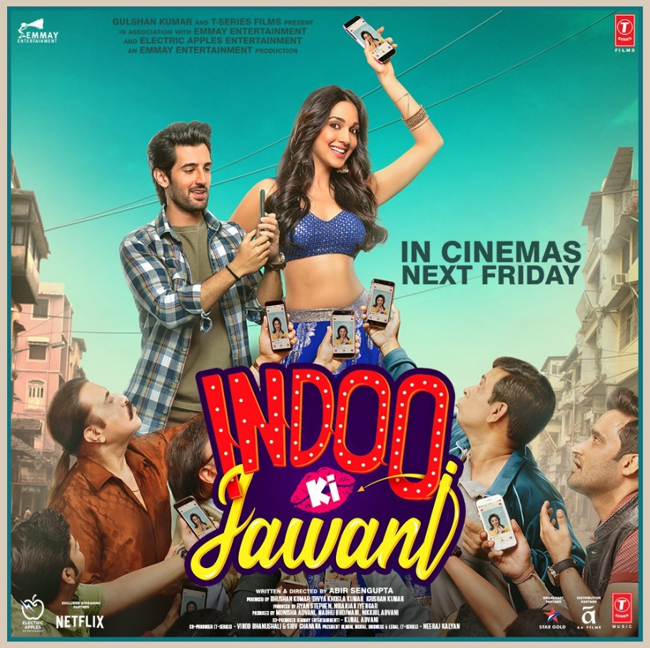 Indoo Ki Jawani 2020 Hindi Full Movie ORG 720p NF HDRip 800MB Download