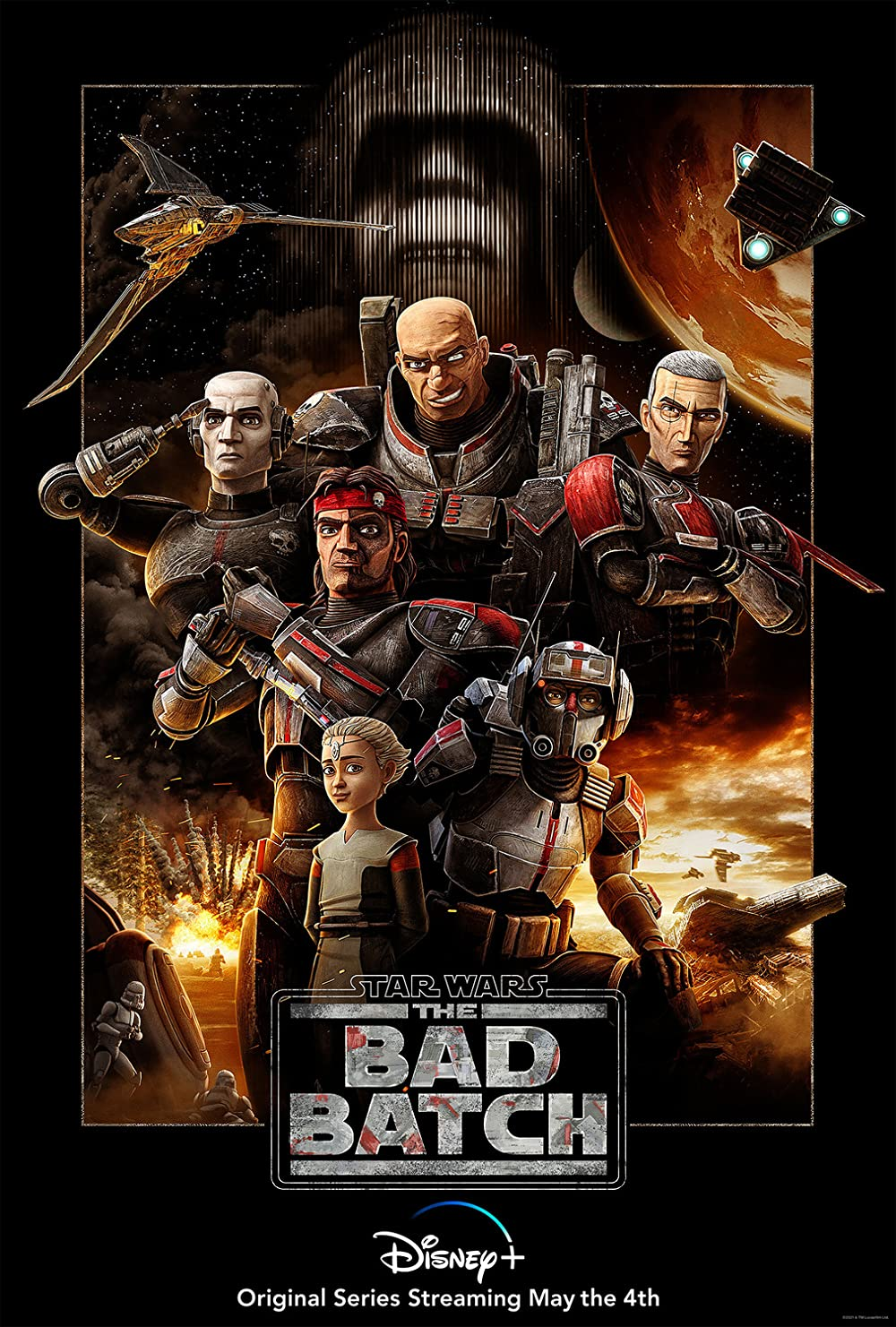 Star Wars The Bad Batch 2021 S01E08 English 720p DSNP HDRip MSub 160MB Download