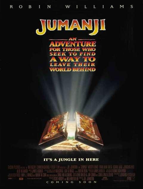 Download Jumanji (1995) Full Movie In Hindi-English (Dual Audio) Bluray 480p [330MB] | 720p [1.4GB]