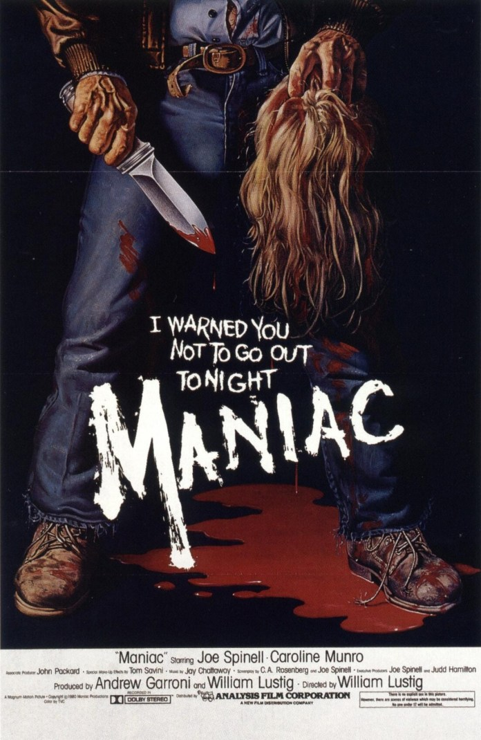 Maniac Horror Movie