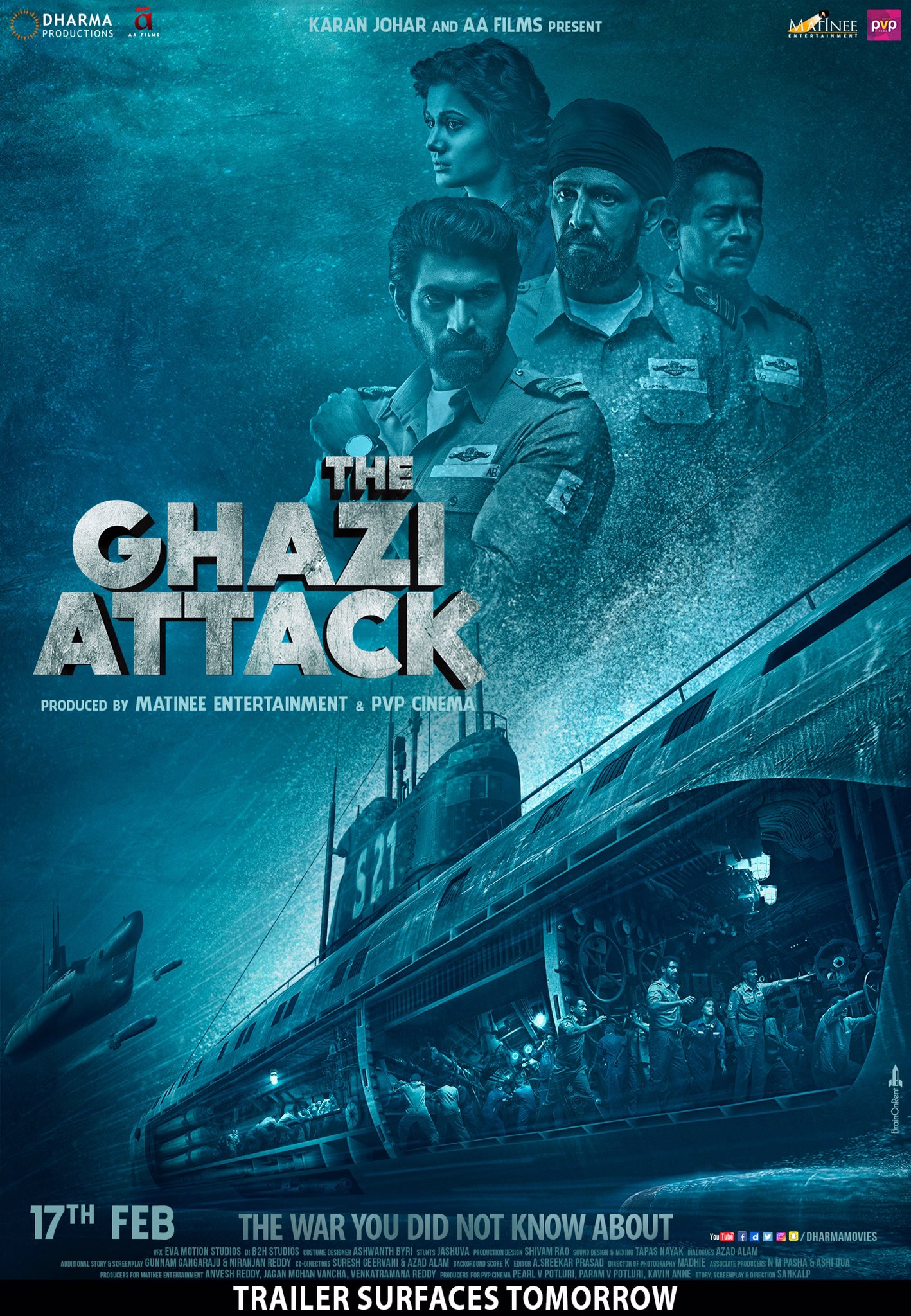 The Ghazi Attack (2017) Box Office Collections India