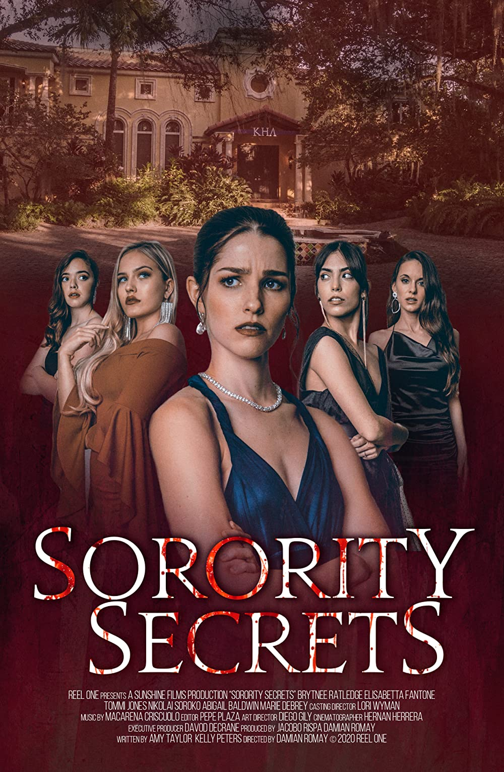 Sorority Secrets 2021 English  480p | 720p HDRip  800MB | 300MB Download