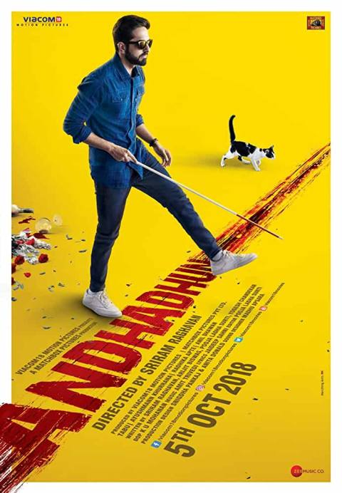 Download Andhadhun (2018) Hindi Full Movie 480p [400MB] | 720p [1GB]