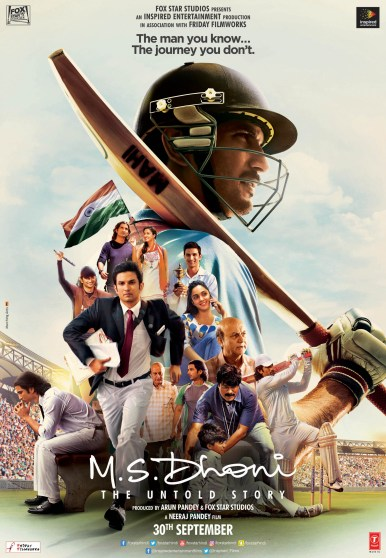Best movies onHotstar - MS DHoni