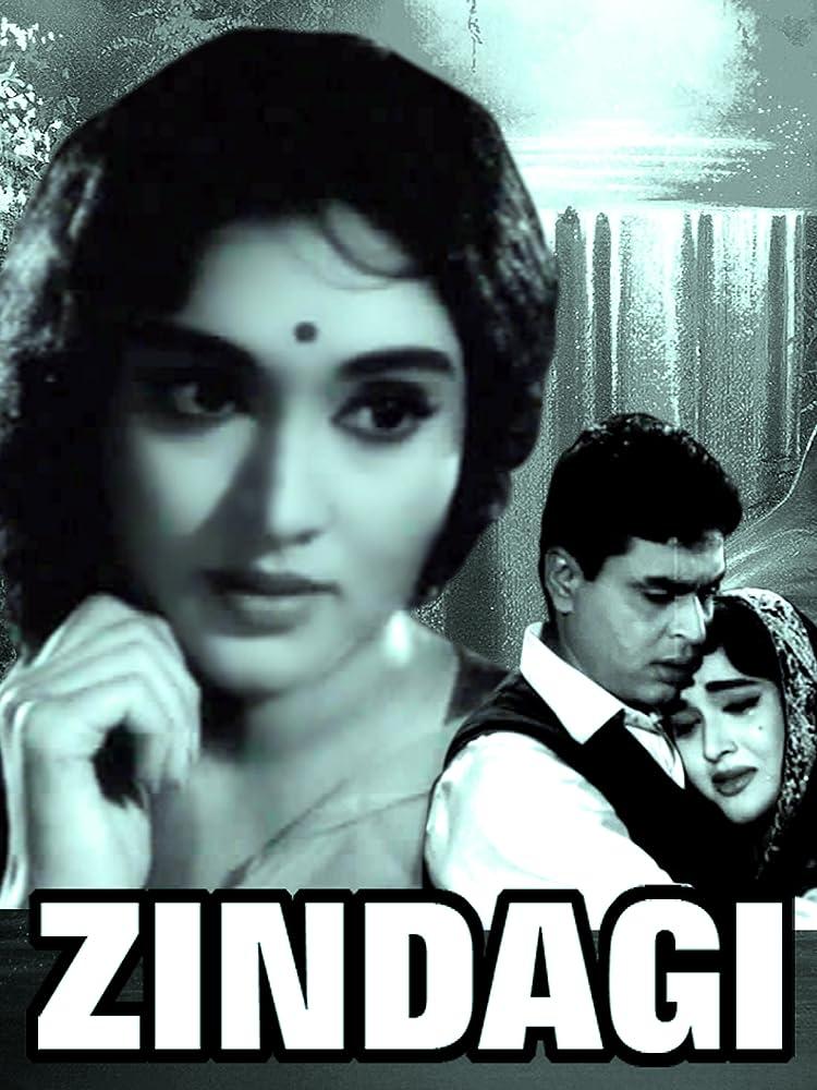 Zindagi 1964 Hindi Movie WebRip 400mb 480p 1.3GB 720p