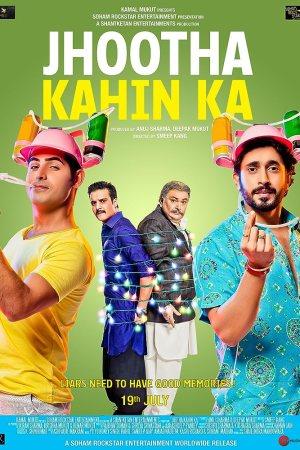 Upcoming Bollywood Movie Jhootha Kahin Ka First Look Poster New
