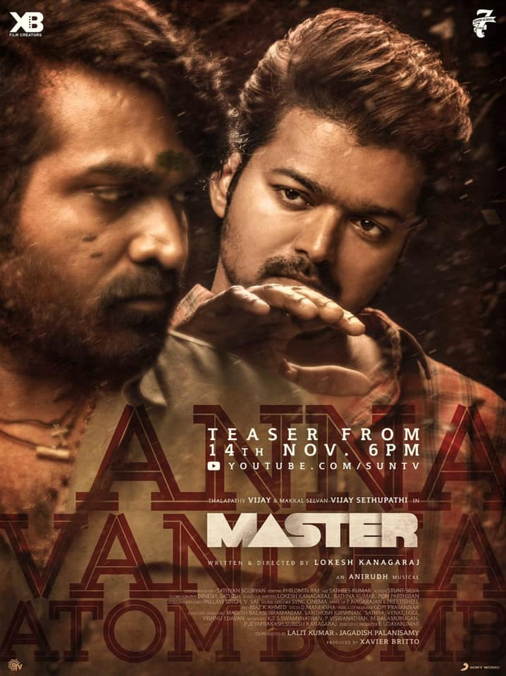 Master (2021) Tamil 720p DVDScr x265 AAC 900MB Download