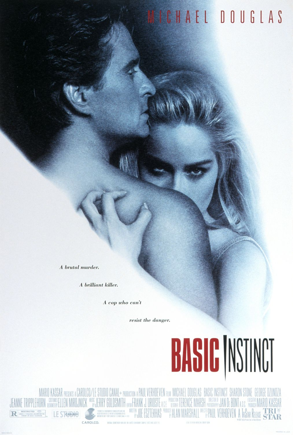 Image result for basic instinct poster