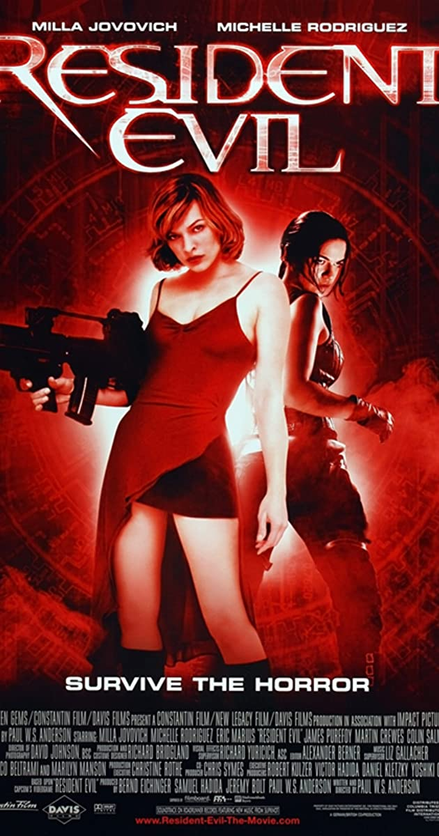 Resident Evil 2002 Imdb