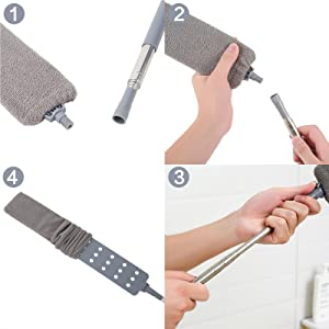 Easy to assemble the dust collectors