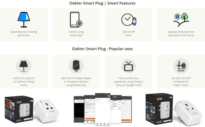 Smart Wi-Fi Plug features