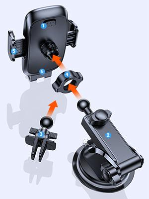 car phone mount for iPhone