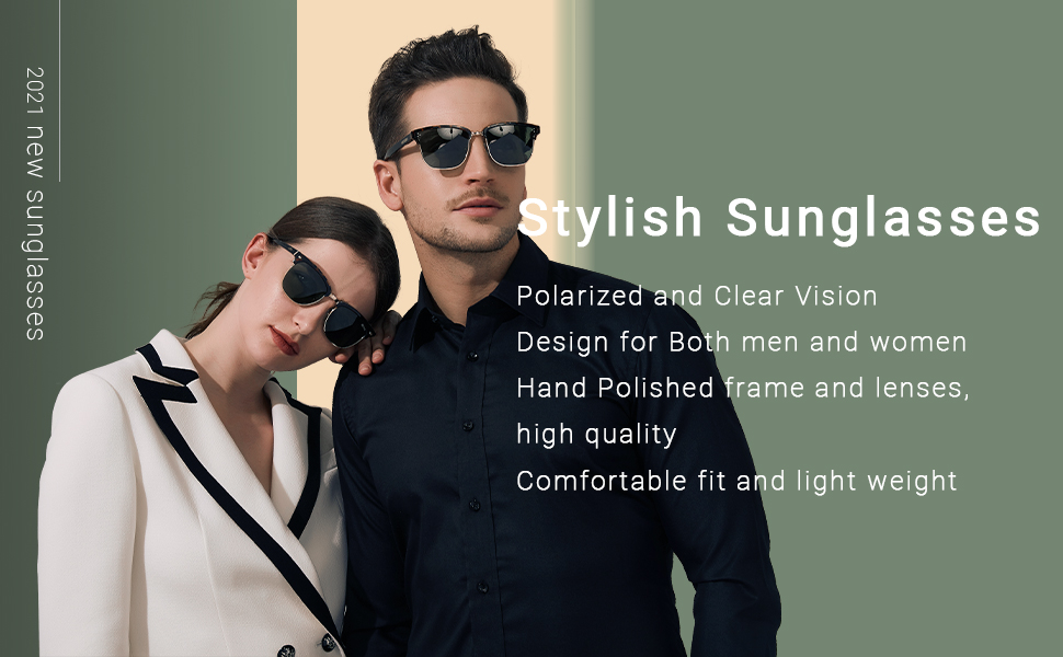 Polarized sunglasses, trendy sunglasses