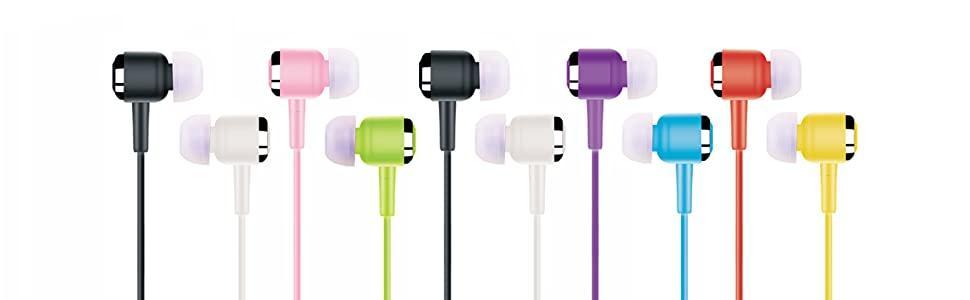 10 earbuds bulk pack