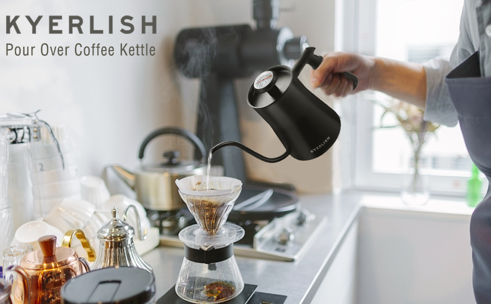 Kyerlish pour over coffee kettle