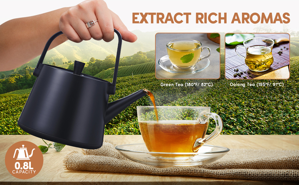 Extract rich flavor