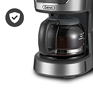 Gevi 5 Cups Small Programmable Coffee Maker A4