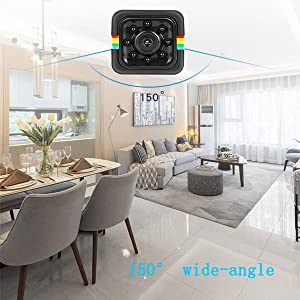 150° wide-angle