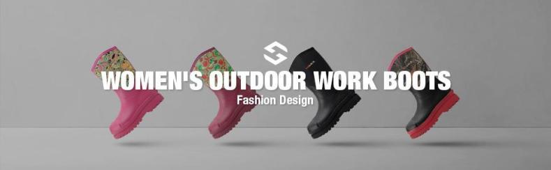 rubber boots women garden boots