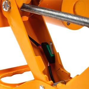 metal screw rod