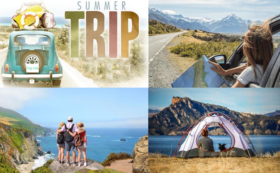 summer trip Tshirt hiking camping mountain tshirt tops
