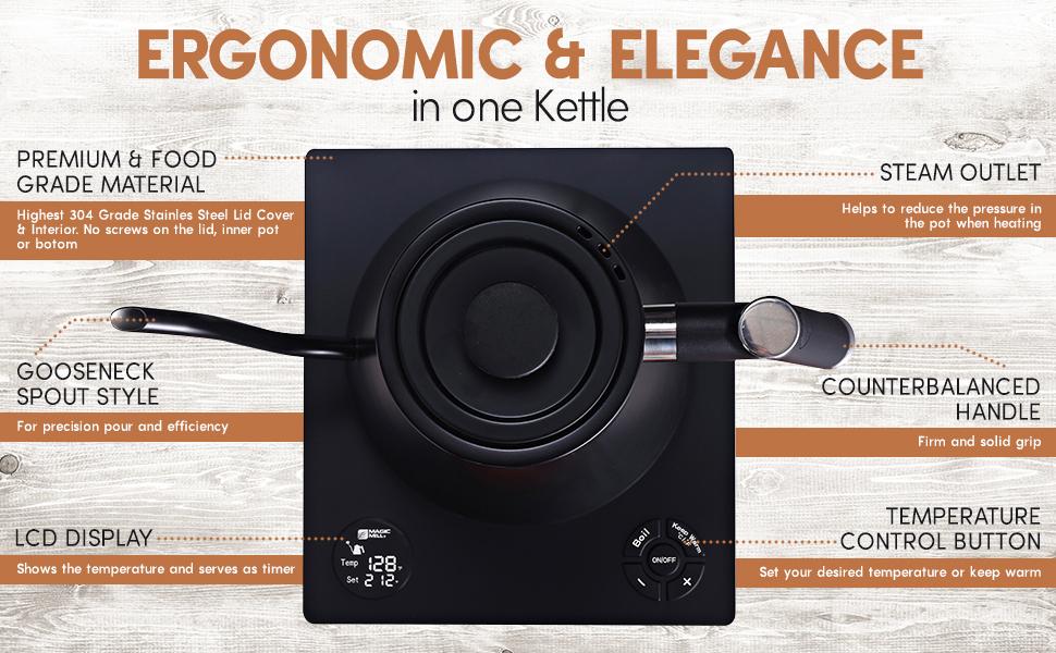 Ergonomic and elegance