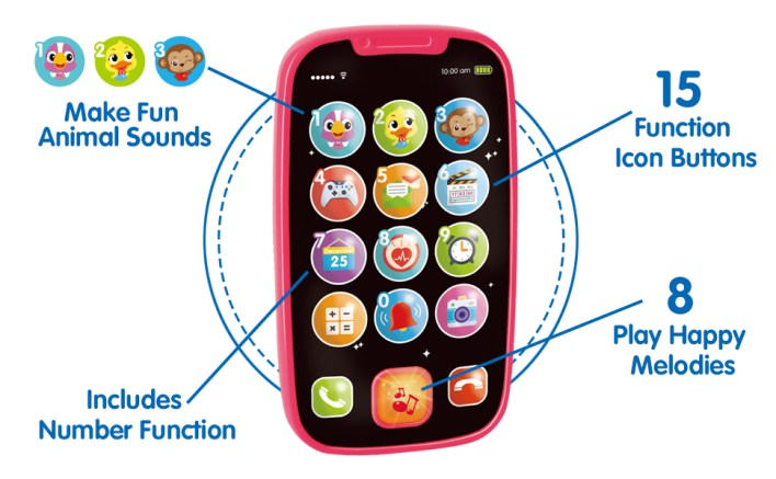 Phone for 1 Year Old Boy Girl Musical Toys
