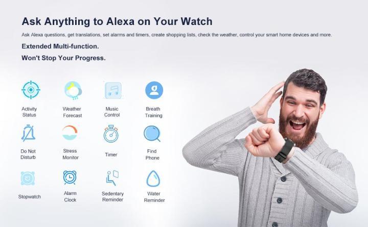 Smart Watch with Alexa