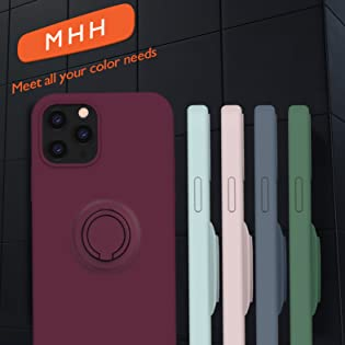 MHH Compatible with iPhone 12 Case & iPhone 12 Pro Case